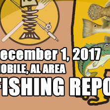Fishing Report December 1st 2017