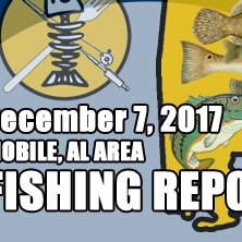 Fishing Report December 7th 2017