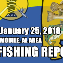 Fishing Report January 25th 2018