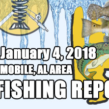Fishing Report January 4th 2018