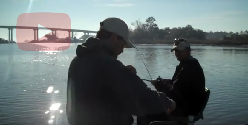 Dog River Fishing Video - Mobile, AL - Largemouth Bass - January 29th, 2011