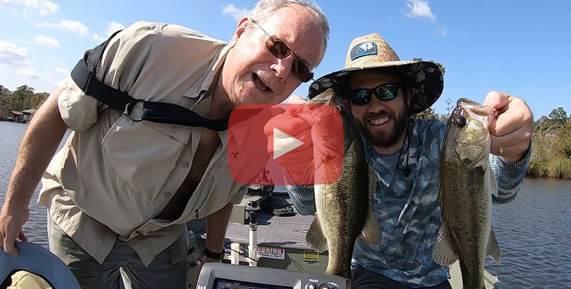 Dog River Fishing Video - Mobile, AL - Largemouth Bass - October 5th, 2019
